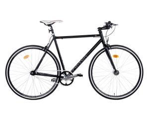 Heren-fixie SPORT FIXED, zwart, 28 inch, framehoogte 56 cm