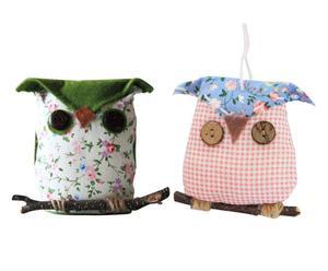 Decoratieve hangers OWLY, 2-delig