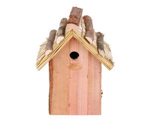 Huisje voor koolmeesjes Wood, 18x27x6 cm