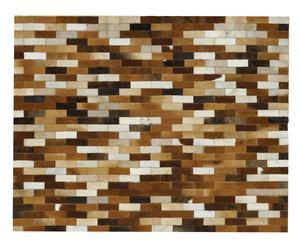 Leren tapijt lola, 150 x 195 cm