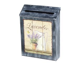 Brievenbus Lavender, B 22 cm