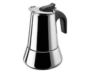 Caffettiera moka in acciaio - 6 tazze