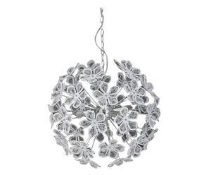 Hanglamp White Flower, staal, 150x60 cm