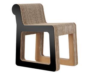Stoel Knob, zwart, H 65,5 cm