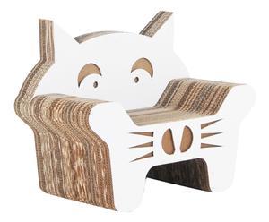 Kinderstoel Gatto, wit, H 55 cm