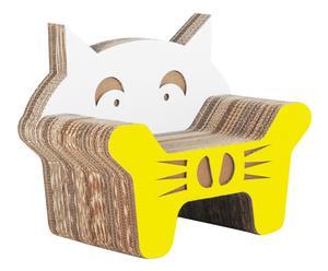 Kinderstoel Gatto, geel, H 55 cm