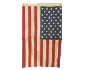 Decoratieve Amerikaanse vlag USA, multicolour, 41 x 69 cm