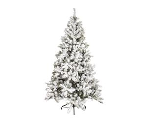 Decoratieve kerstboom met sneeuw Iceland, H 210 cm