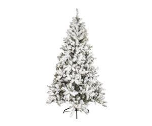Decoratieve kerstboom met sneeuw Iceland, H 240 cm