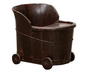 Kinderstoel Bob, donkerbruin, H 51 cm