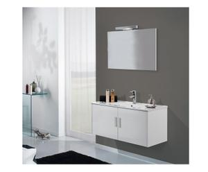 Badkamerset Ariel, wit, L 70 cm
