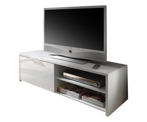 Tv-meubel Sorren, wit, L 122 cm