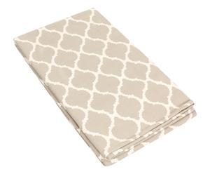 Vloerkleed Saman beige/wit, 150 x 240 cm