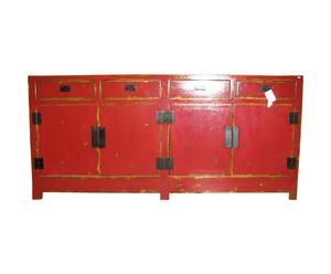 Chinees dressoir, iepenhout