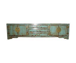 Chinees dressoir, verweerd blauw