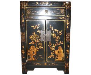 Chinees kastje zwart en goud