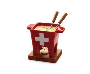 Fondueset Swiss Design, klein