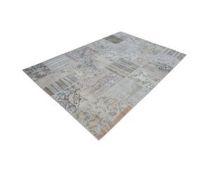 Vloerkleed SADE, patch, grijs, 300 x 200 cm