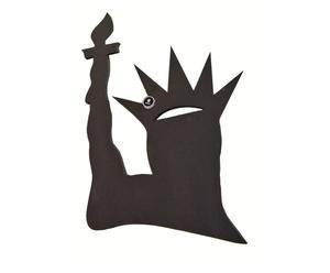 Krijtbord Statue of Liberty