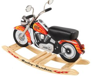 Harley-davidson schommelmotor met geluid