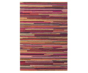 Vloerkleed, roodtinten, 250 x 350 cm, wol