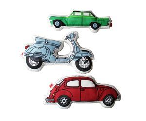 Set van 3 autokussens