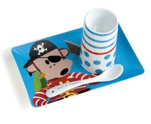 Ontbijtset Pirate Leroy Kids