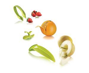 Set van 3 fruitschillers