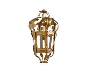 Paleislamp old vienna, goud, klein