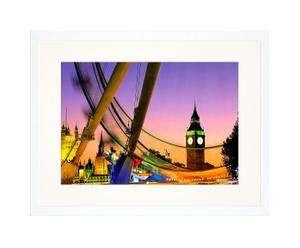 Ingelijste foto London Big Ben, 30 x 40 cm