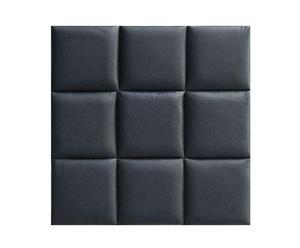 Wanddecoratie Agate, zwart, 10 stuks