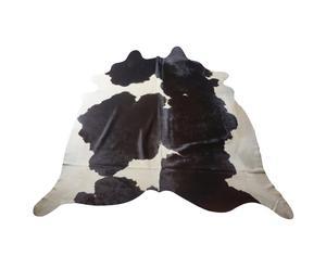 Koeienhuid Berta, zwart, wit, 150 x 200 cm