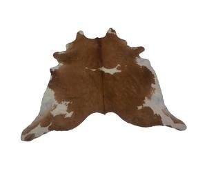 Koeienhuid Emi, bruin, wit, 150 x 200 cm