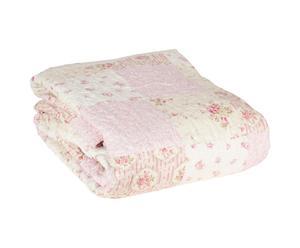 Bedsprei Love, roze, 180 x 260 cm