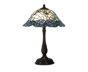 Tafellamp Tiffany Fifteen, H 56 cm