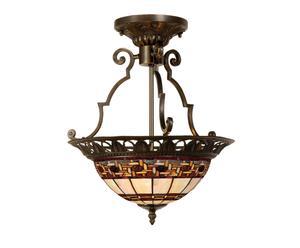 Plafondlamp Tiffany, H 41 cm