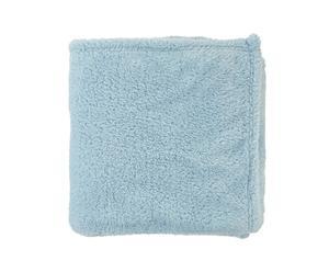 Plaid Fleece, lichtblauw, 130 x 180 cm