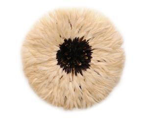 Juju hat Fortunata, wit/zwart, diameter 85 cm