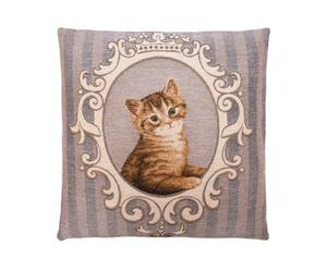 Kussenhoes Frame Cats V, 45 x 45 cm