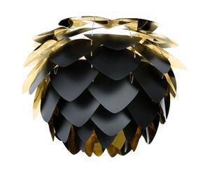Hanglamp Silvia, zwart, diameter 45 cm