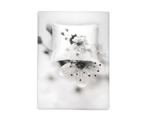 Dekbedovertrekset Cato, wit, 155 x 220 cm