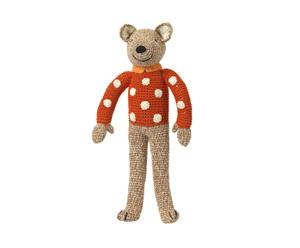 Decoratieve pop Cute Bear II, caramel, L 34 cm