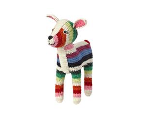Decoratieve pop Bambi, multicolour, L 23 cm