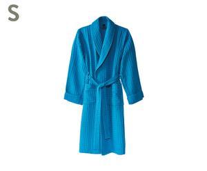 Badjas Viggo 280 gr/m2, blauw, maat S
