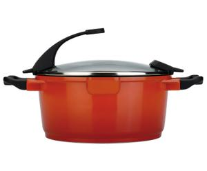 Snelkookpan Virgo, oranje, diameter 16 cm