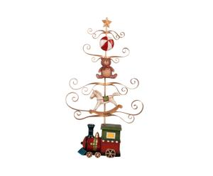 Decoratieve kerstboom Caitlyn, multicolour, L 43 cm