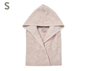 Luxe badjas Elegance 580 gr/m2, lichtroze, maat S