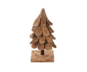 Decoratieve kerstboom op standaard Christmas, naturel, H 58 cm