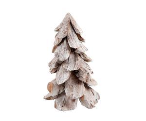 Decoratieve kerstboom Snow, grijs, H 78 cm