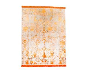 Handgemaakt tapijt Beige Orange, 244 X 178 cm